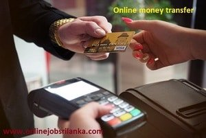 Online money transfer SriLanka