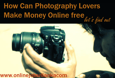How Can Make Money form photography online jobs