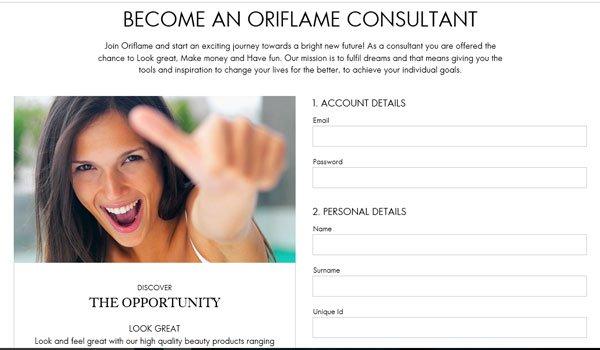 Make Money Selling Oriflame