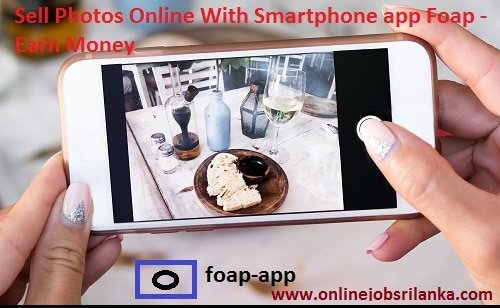 Sell Photos Online With Smartphone app Foap - Earn Money